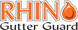 RHINO Gutter Guard - Cox Roofing
