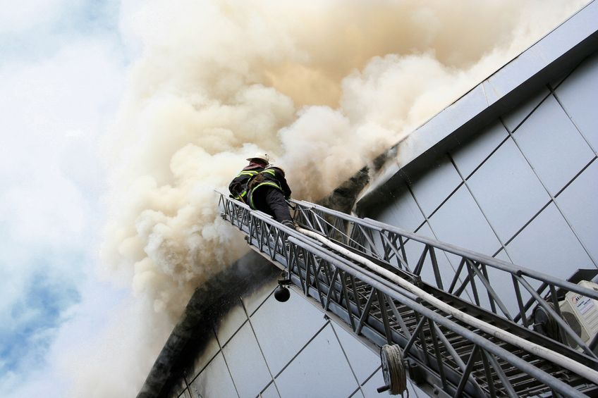 Fire Barrier Install : Roof fire barrier coating will save your business cox