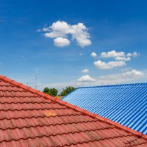 Residential roof image.