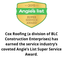 Cox Roofing Angie's List