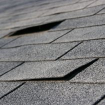 buckled shingles-Cox Roofing