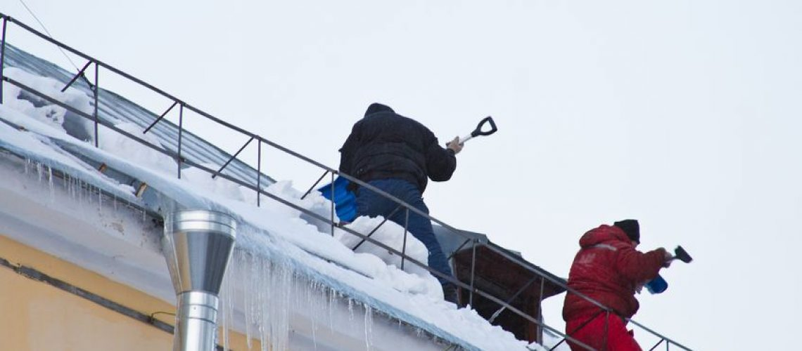 Roof Snow Removal - Cox Roofing