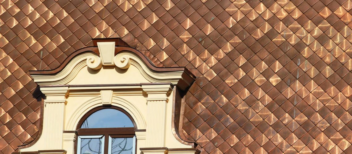 Copper Roof - Cox Roofing