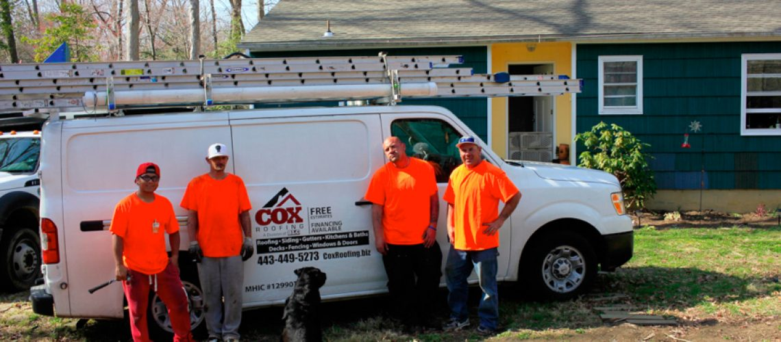 Wounded Warrior - Cox Roofing