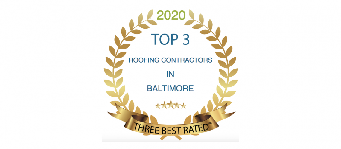 Top 3 Roofers in Baltimore