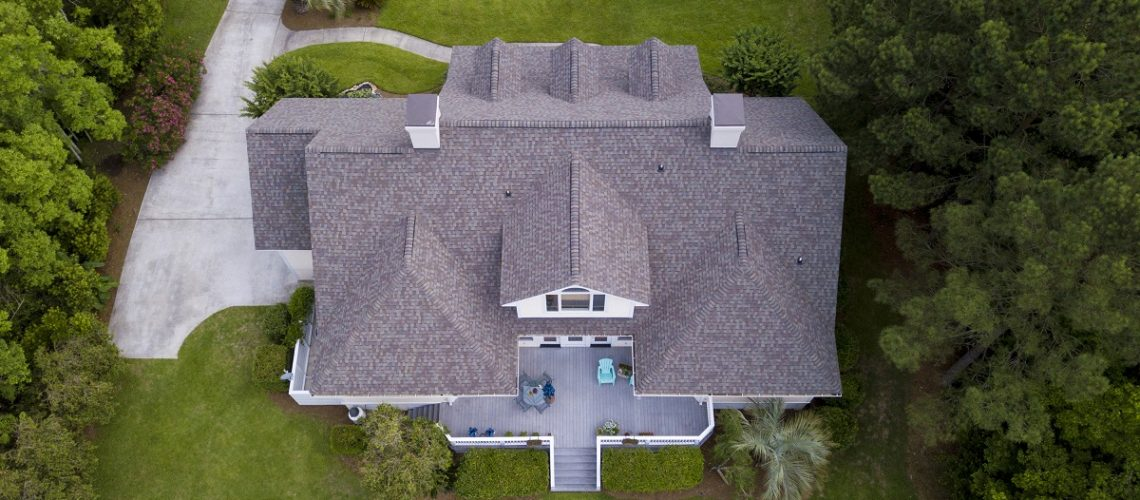 April Model home -- Cox Roofing